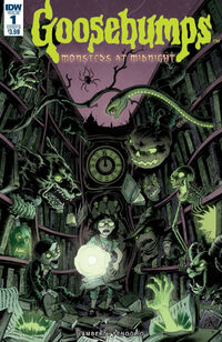 Monsters at Midnight - Issue 1 (Variant B)