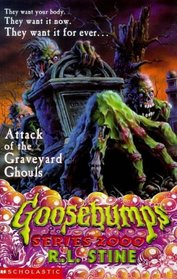Attack of the Graveyard Ghouls - UK Cover