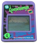 16 Horrorland Goosebumps Cartridge for MGA Handheld LCD game