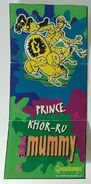 Khor-Ru Mummy Kelloggs sticker