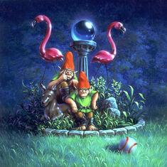 Revenge of the Lawn Gnomes - artwork