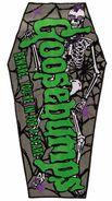 Goosebumps Kreepsville 666 Beware Coffin towel full