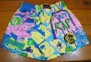 Ready to Rap Glow Dark shorts