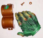 1996 Haunted Hand Doorknob cover unpkg in parts side 1