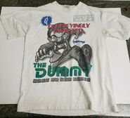 Slappy Terrifyingly Twisted turn up scare T-shirt total champ