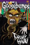 615163009 goosebumps topeng hantu the haunted mask cetak ulang cover baru