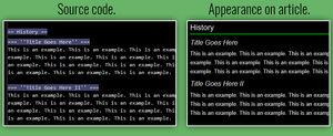 Example page setup 2