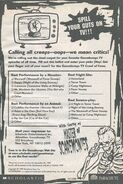 Goosebumps TV Crawl of Fame contest bookad from s2000 19 1999