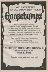OS 31 Night of the Living Dummy II bookad from OS30