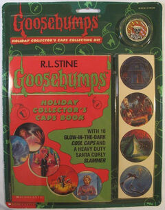 Goosebumps Holiday Collectors Caps Kit Pack front