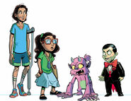 Goosebumps Monsters at Midnight cast