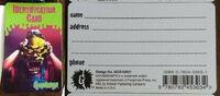 11 Haunted Mask Antioch ID card f+b