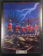45 Ghost Camp Lithograph