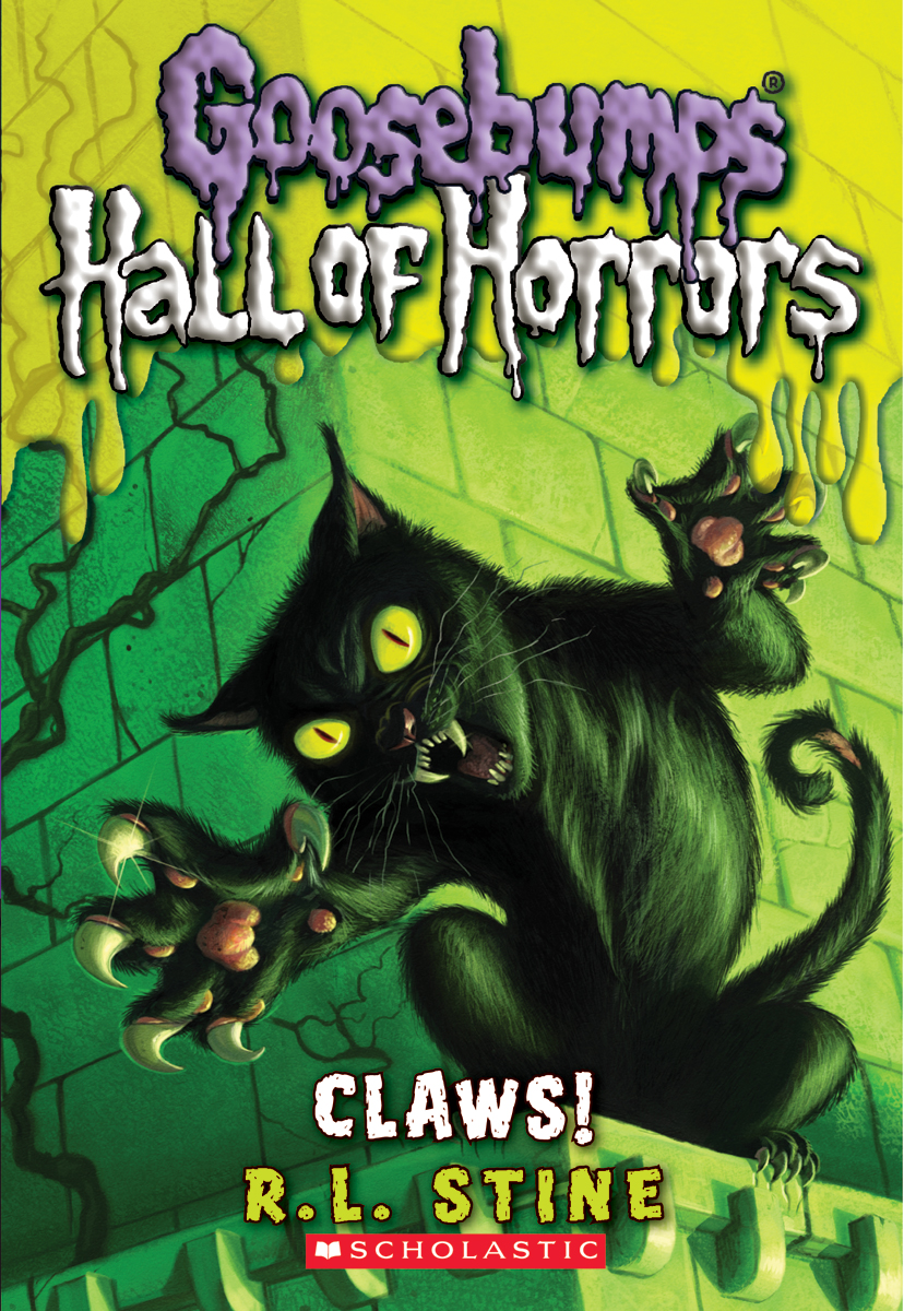 Book Cover Series Wiki : Claws goosebumps wiki fandom powered by wikia