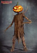 Haunted Halloween Pumpkinhead Concept 1
