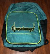 Goosebumps 1996 green backpack