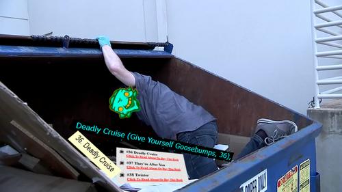 Bart the dumpster diver