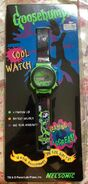 Curly Spiderweb Nelsonic digital watch