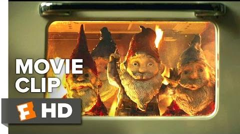 Goosebumps Movie CLIP - Gnome Invasion (2015) - Jack Black Movie HD
