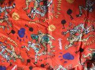 Muddy Creek Stomp Khor-Ru orange fabric