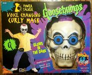Curly Voice Changing Mask box front