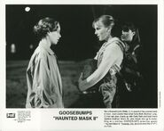 Steve Carly Beth Haunted Mask II press photo