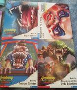 Fan Club 2000 4 postcards front