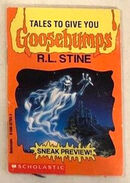 Tales Give You Goosebumps House No Return preview booklet front