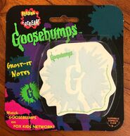 G-splat logo Ghost-It Notes notepad Happiness Express