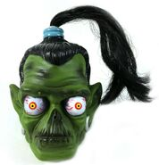 Shrunken Head Scary Squirts 1996 water toy unpkg