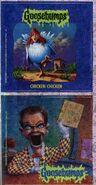Goosebumps 53 Chicken Chicken metallic stickers