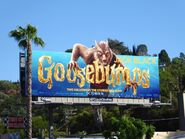 Goosebumps werewolf movie billboard