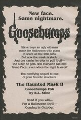 OS 36 Haunted Mask II bookad from OS35