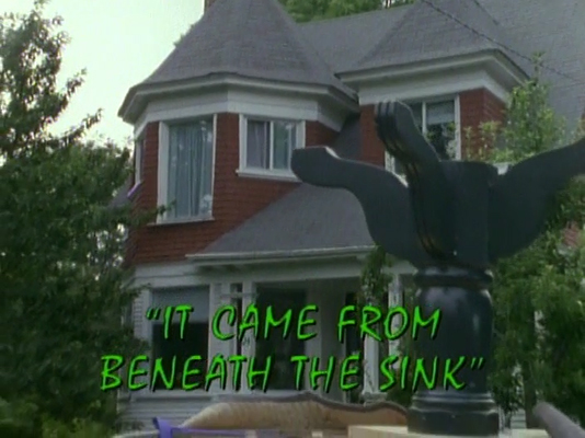 It Came From Beneath The Sink Tv Episode Goosebumps Wiki