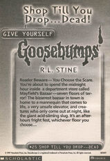 GYG 25 Shop Til You Drop Dead bookad from GYG24 1997