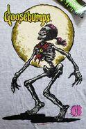 Curly full moon 1996 T-shirt detail