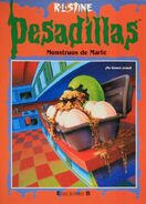 Egg Monsters from Mars - Spanish Cover - Monstruos de Marte - Pesadillas