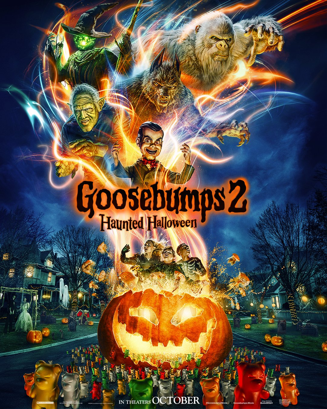 Halloween Thanksgiving Christmas Countdown.User Blog Nickthedummy Countdown To Goosebumps 2 Haunted