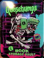 Goosebumps book storage vault