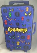 Goosebumps Spooky Eyes Mummy Rolling Suitcase