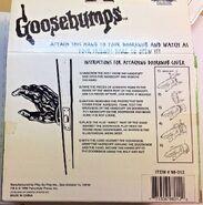 1996 Haunted Hand Doorknob cover box back