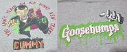 Old Dummy New Tricks Slappy T-shirt f+b detail