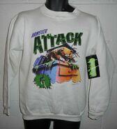 18 Monster Blood II Hamster Attack sweatshirt front