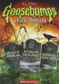 3 Pack; One Day - Return of the Mummy - Shocker on Shock Street