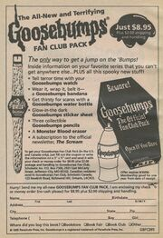 Fan Club Pack bookad from orig series 35 1995-96