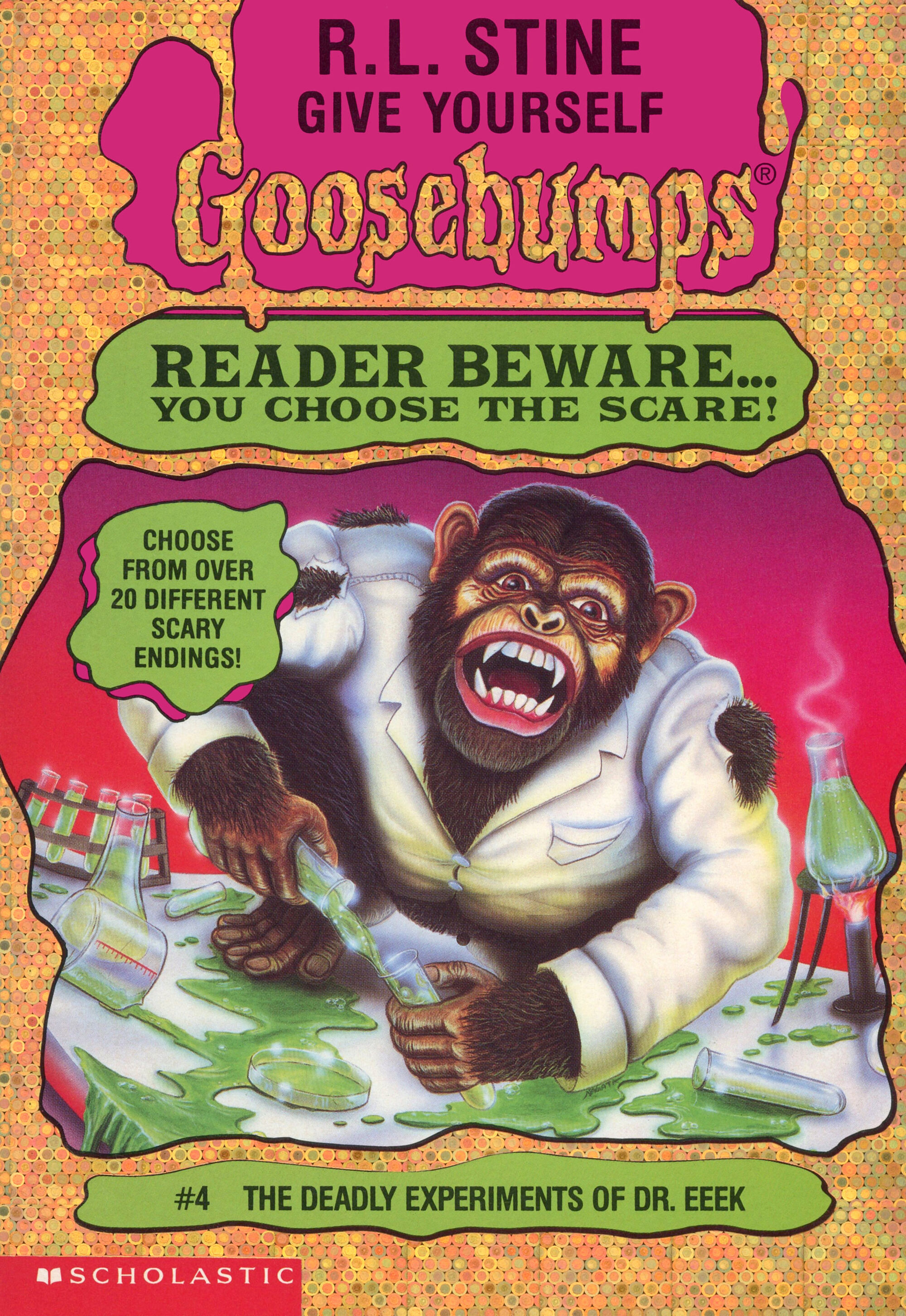 The Deadly Experiments of Dr  Eeek | Goosebumps Wiki | FANDOM