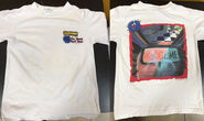 10 Ghost Next Door shirt front + back