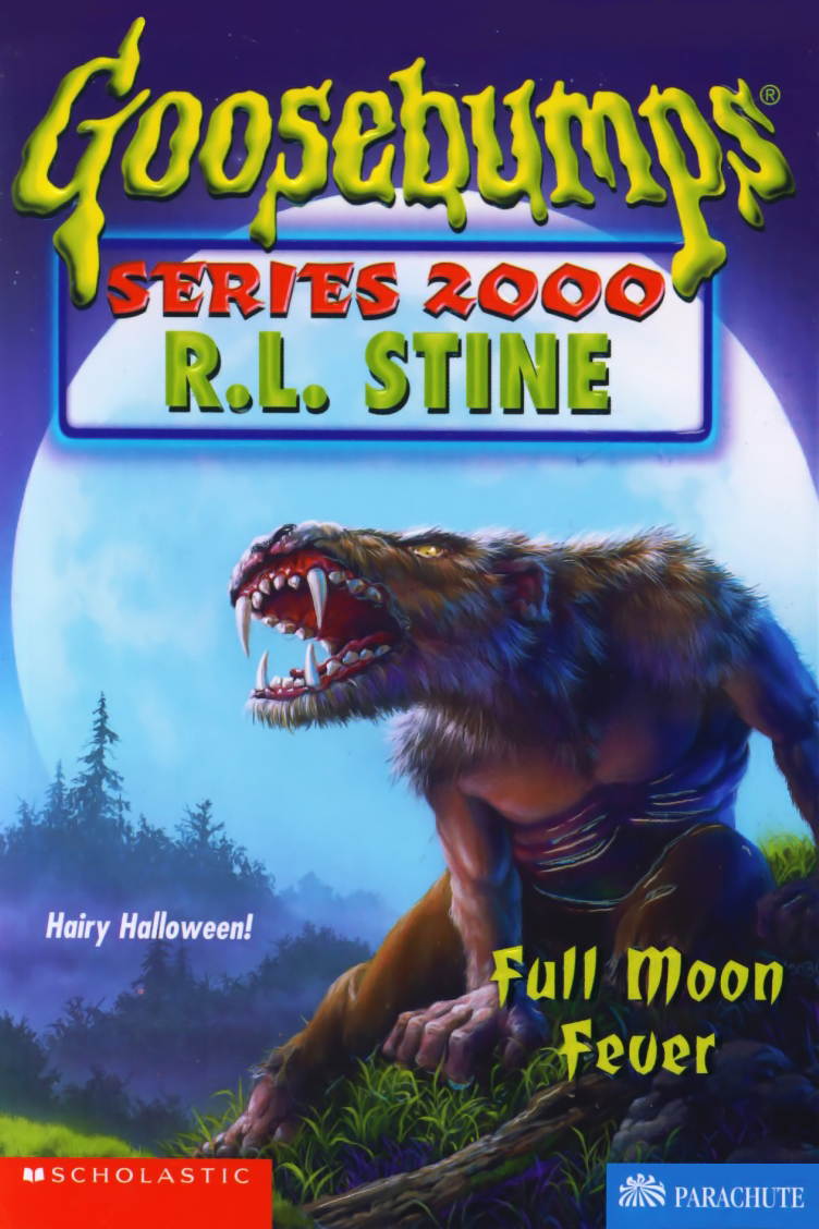 Book Cover Series Wiki : Full moon fever goosebumps wiki fandom powered by wikia
