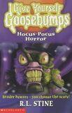 Hocus-Pocus Horror - UK Cover