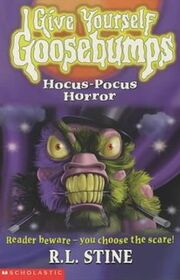Hocus-Pocus Horror - UK Cover